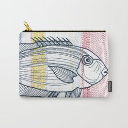 Stitches: Fish Carry-All Pouch