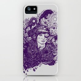 Look At The Light iPhone Case