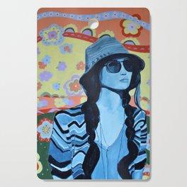 Boho Summer Girl 2 Cutting Board