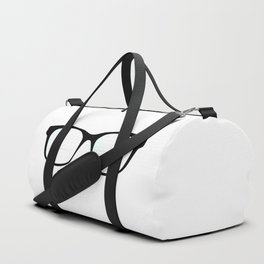 Pair Of Optical Glasses Duffle Bag