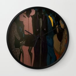 Melodies Sung In (d)ea Minor (Sunday's Jam)  Wall Clock