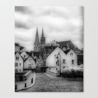 france Canvas Prints featuring France by Iveta S.