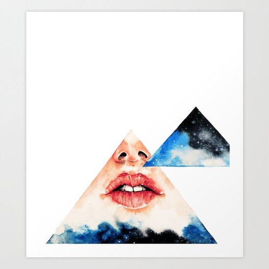 Lipss Art Print