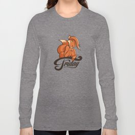 friday fox Long Sleeve T-shirt