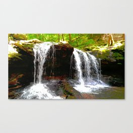 Funky Waterfall Canvas Print
