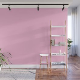 From The Crayon Box – Cotton Candy Pink - Pastel Pink Solid Color Wall Mural
