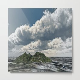 Shoreline of the Island Metal Print