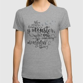 Six of Crows - Monster - White T-shirt