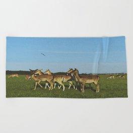 Oh Deer (Artistic/Alternative) Beach Towel