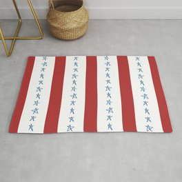 Stars and Stripes Rug