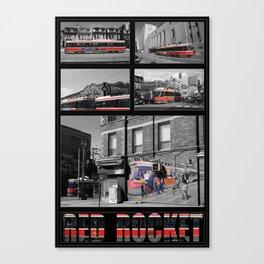 Red Rocket 30 Canvas Print