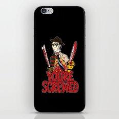 Slasher Mash (SFW) iPhone & iPod Skin
