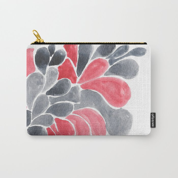 Watercolour Experimenting.  Carry-All Pouch