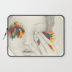 Give Me Your Eyes Laptop Sleeve