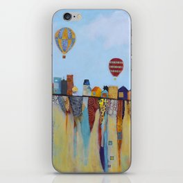 """""""Over and Under"""" iPhone Skin"""