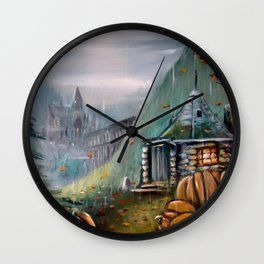 Gamekeeper's Autumn Wall Clock