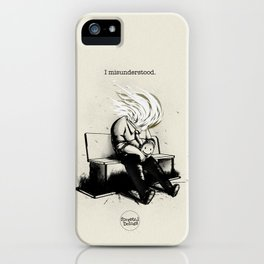 I misunderstood iPhone Case
