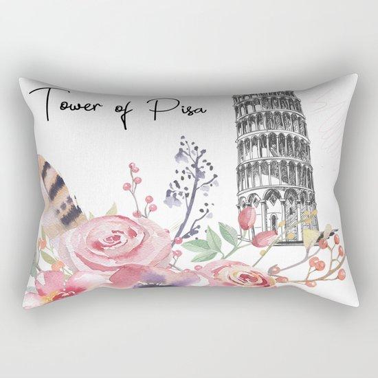 Flowers bouquet #28 Rectangular Pillow