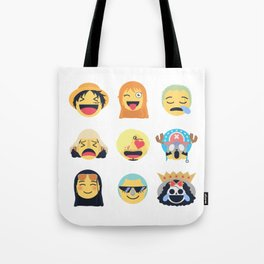 Nakama Emoji Design Tote Bag