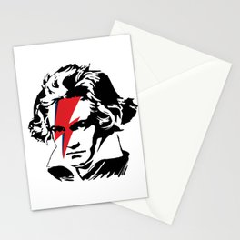 Beethoven with flash Stationery Cards