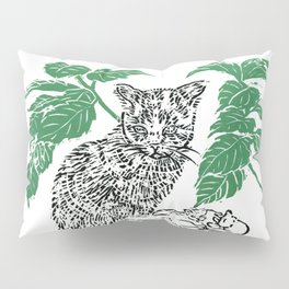 woodblock print Pillow Sham