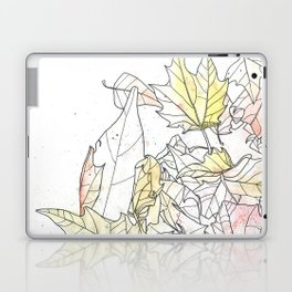 Autumn Leaves Watercolor Laptop & iPad Skin