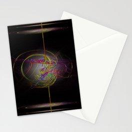 Neon Smoke  Stationery Cards