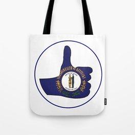 Thumbs Up Kentucky Tote Bag