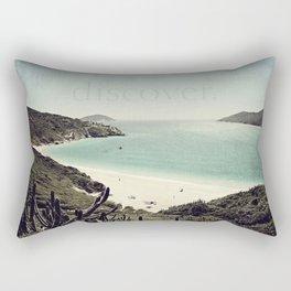 discover. {Arraial do Cabo Rectangular Pillow