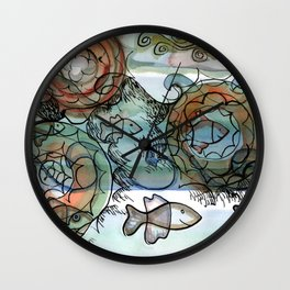 Life on the Earth Wall Clock