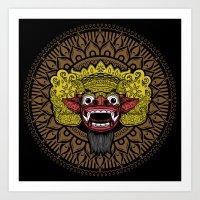 balinese barong Art Print