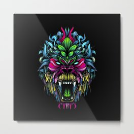 Gorilla color Metal Print