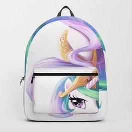 Beautiful unicorn drawing Backpack