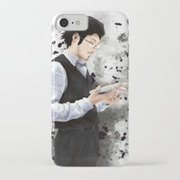 boss iPhone & iPod Cases featuring Boss by Jackie LaPlante