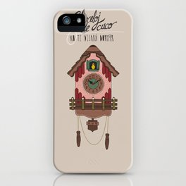 Cuckoo Clock iPhone Case