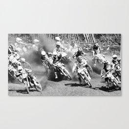Dusty Race Canvas Print