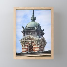 Fancy Turret Framed Mini Art Print