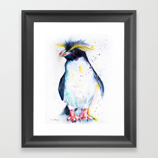 Rockhopper Framed Art Print