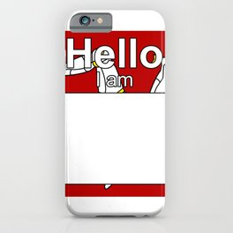 Hello I am from Isle of Man iPhone Case