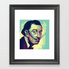 Salvador Dalí Framed Art Print