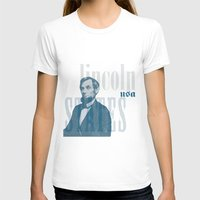 lincoln T-shirts featuring Lincoln by Thomas Official