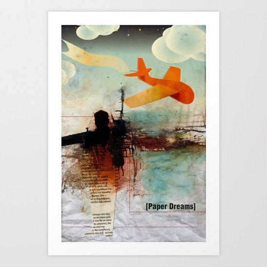Paper Dreams Art Print