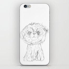 Puppy dog iPhone Skin