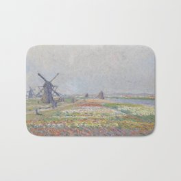 Tulip Fields near The Hague Bath Mat