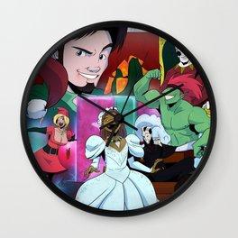"""""""'Twas The Night Before Crunchmas"""" by Tony Baldini Wall Clock"""