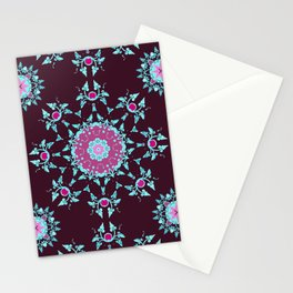 red berry pattern Stationery Cards