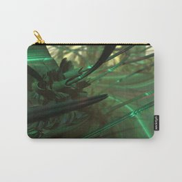 Green Whips (3D Fractal Digital Art) Carry-All Pouch