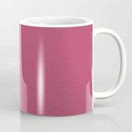 Dunn & Edwards 2019 Trending Colors Sangria (Pink) DE5041 Solid Color Coffee Mug