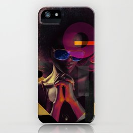 Stars In Her Eyes iPhone Case