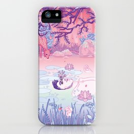 Ophelia was a man iPhone Case